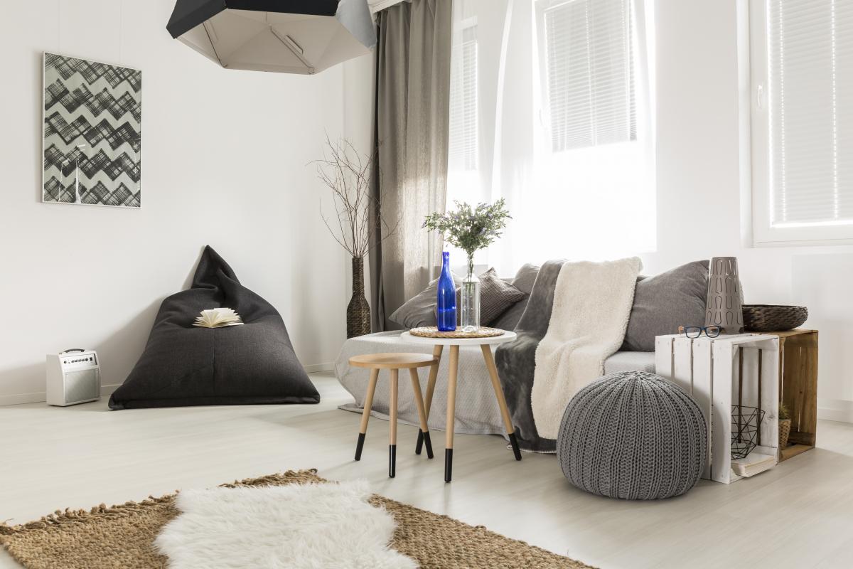 Снеты в квартире скандинавского стиля