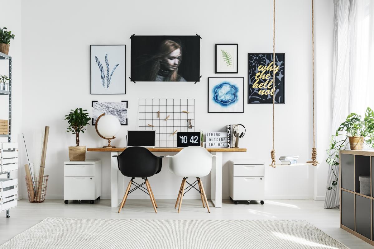 Скандинавский стиль для квартиры под аренду